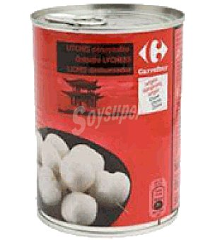 Carrefour Litchis en sirope 250 g