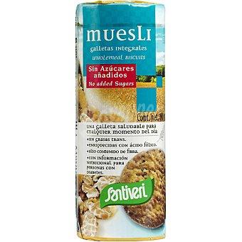 Santiveri Galletas muesli sin azúcar Paquete 190 g