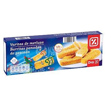 DIA Varitas de merluza vitaminadas caja 450 gr 450 gr