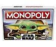 Juego de mesa de gestión Monopoly The Child Star Wars, de 2 a 4 jugadores, Baby Yoda Gaming  Hasbro Gaming