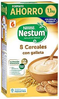 Nestum Nestlé Papilla 8 cereales con galleta 1100 g