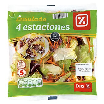 DIA Ensalada 4 estaciones Bolsa 250 gr