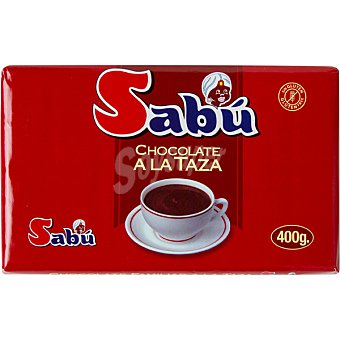 SABU Chocolate a la taza Tableta 400 g