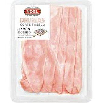 Noel Delizias de jamón cocido extra Bandeja 120 g