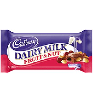 Cadbury Chocolate fruit nut 250 g