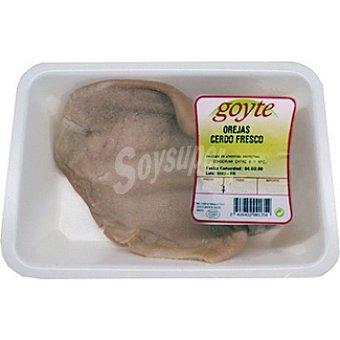 GOYTE Oreja de cerdo fresca peso aproximado bandeja 350 g 1 unidad