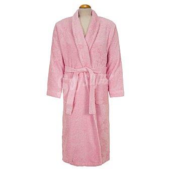 Casactual Albornoz adulto talla XL de rizo americano color rosa 1 Unidad