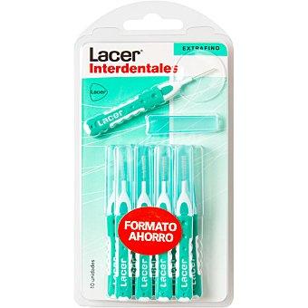 Lacer Cepillo Interdental recto, extrafino 10 Unidades