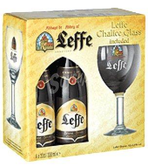 Leffe Cerveza Pack de 4x33 cl