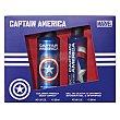 Lote infantil capitan america colonia body spray 200 ml (envase aluminio) + gel / champu 200 ml U Marvel