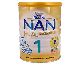 Nan Nestlé Leche para lactantes 1 hipoalergénica a partir del primer día Expert Lata 800 g