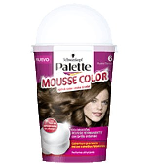 Palette Schwarzkopf Mousse Color 6 Rubio Oscuro 1 ud
