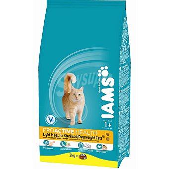 IAMS PROACTIVE NUTRITION Mature & Senior Sterilised alimento completo para gato adulto +7 años esterilizados  bolsa 2,5 kg