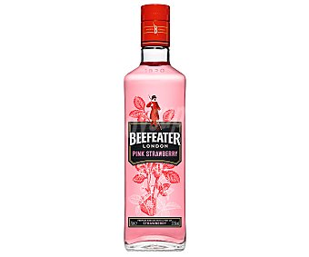 Beefeater Ginebra rosa tipo London Gin, que fusiona sabores cítricos con fresa pink Botella de 70 cl