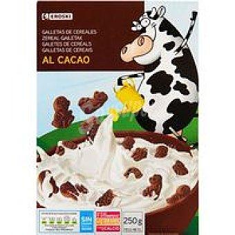 Eroski Galletita con cereales-chocolate Caja 250 g