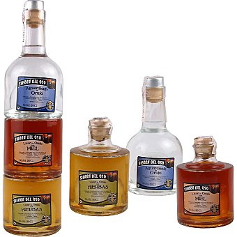 Sierra Del Oso Orujo Estuche 3 botellas 20 cl