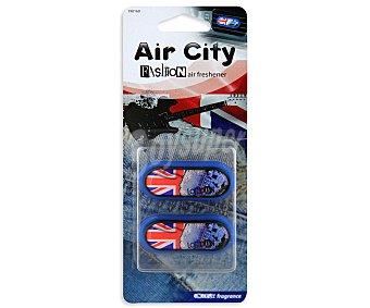 CARLINEA Ambientador de Coche para Rejilla de Ventilación con olor a la Energica Ciudad de Londres 1 Unidad
