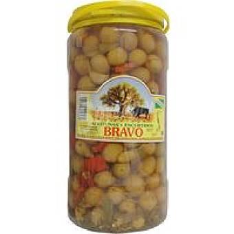 Bravo Aceitunas moradas Frasco 2 kg