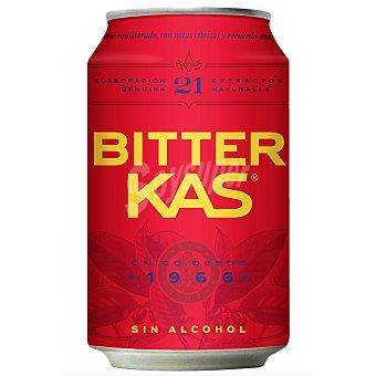 Bitter Kas Refresco amargo sin alcohol Lata 33 cl