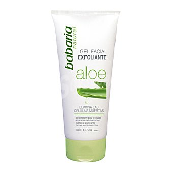 Babaria Gel facial exfoliante con aloe vera 150 ml