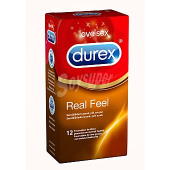 Durex Preservativos Real Feel Ultra Sensitive  Caja 12 uds