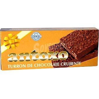 ANTOXO turrón de chocolate crujiente tableta 250 g