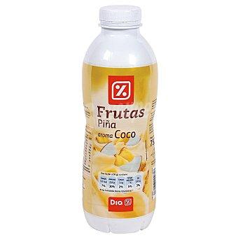DIA Yogur líquido piña y coco Botella 750 gr