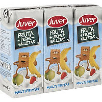 Juver Lactozumo de galleta Pack 3x200 ml