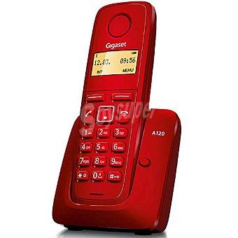 GIGASET A120 Teléfono inalámbrico dect color rojo