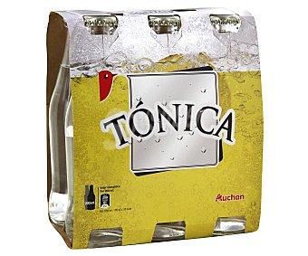 Auchan Tónica clásica Botella de 25 centilitros pack de 6