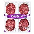 Salchichon suave extra lonchas Paquete pack 4 x 60 g - 240 g Hacendado
