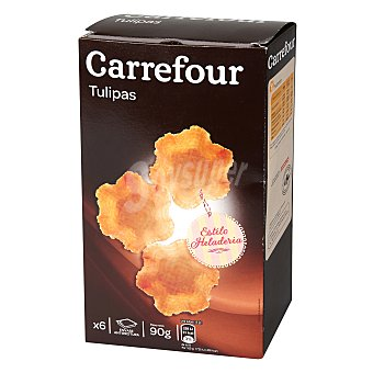 Carrefour Tulipas Barquillo 90 g