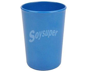 Bormioli Vaso fabricado en melamina color azul cobalto, de capacidad, bormioli 0,32 litros