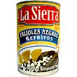 Frijoles negros refritos lata 430 g La sierra
