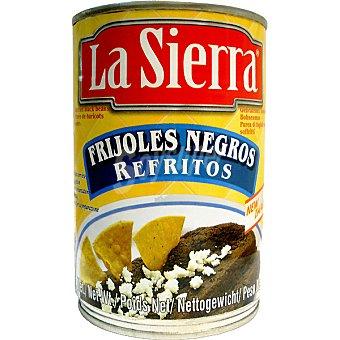 LA SIERRA Frijoles negros refritos Lata 445 g