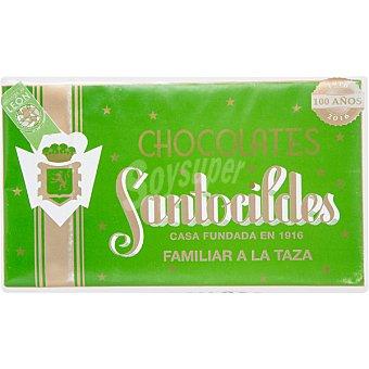 Santocildes Chocolate familiar a la taza Tableta 300 g