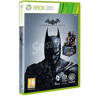 XBOX 360 Videojuego Batman Arkham Origins  1 Unidad