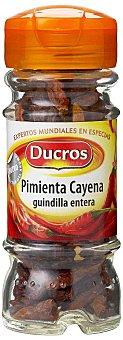 Ducros Pimienta cayena entera Frasco 11 g