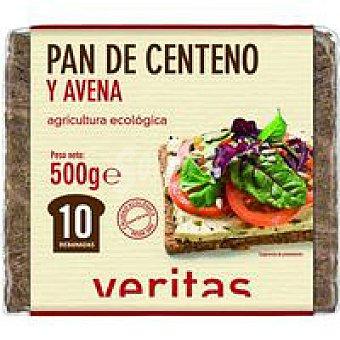 Veritas Pan de centeno-avena Caja 500 g