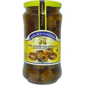 Los Aceituneros Cebollas al vinagre balsámico de Módena Frasco 180 g neto escurrido