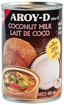 AROY-D Leche de coco cocina Lata 400 ml