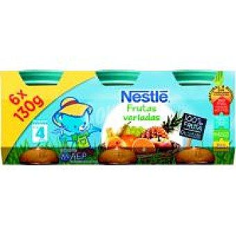 Nestlé Tarrito multifrutas Pack 6x130 g