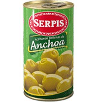 Serpis Aceitunas rellenas de anchoa Lata 150 g