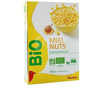 Auchan Bio Cereales con miel 375 g