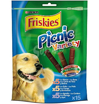Purina Friskies Purina 15 Snacks Perro Picnic Variety 126 g