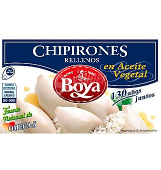 Boya Chipirones aceite girasol 61 g
