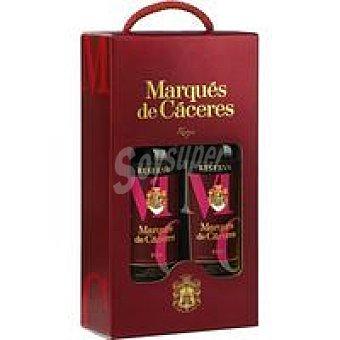 MARQUES DE CACERES Reserva Pack - 2x0 Estuche 75L