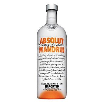 Absolut Vodka Vodka de mandarina Botella 70 cl
