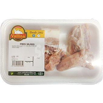 Vallina Rabos de cerdo salados peso aproximado Bandeja 300 g
