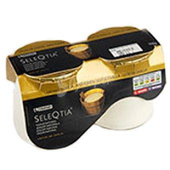 Eroski Seleqtia Yogur de oveja con frutos rojos Pack 2x125 g